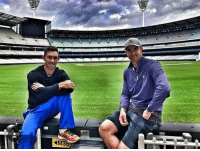 Memes, 🤖, and Mcg: M3 Kevin Pietersen and Glenn McGrath at the MCG