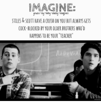 MAAGINEE youRe-my-baby-daddy-imagines STILES & SCOTT HAVE a