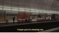 Hope, Youre, and Missing: MABILON  I hope you're missing me