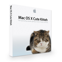 Cute, Mac, and Os X: Mac OS X Cute Kitteh  Teh operating system giving u noms.Finaly u can has <p>We can haz?</p>