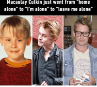 "<p>Feels good to see people caring for their health via /r/wholesomememes <a href=""http://ift.tt/2uKqCKq"">http://ift.tt/2uKqCKq</a></p>: Macaulay Culkin just went from ""home  alone"" to ""I'm alone"" to ""leave me alone"" <p>Feels good to see people caring for their health via /r/wholesomememes <a href=""http://ift.tt/2uKqCKq"">http://ift.tt/2uKqCKq</a></p>"