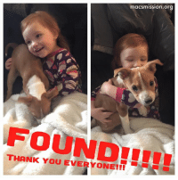 Cars, Memes, and Neighbors: macsmission.org  THANK You EVERYONE!!! GEM WAS LITERALLY JUST FOUND!!! The neighbor had her overnight and was actually just putting her in the car to go check for a chip.   PEOPLE CHIP YOUR PETS!!!!!!!   THANK YOU EVERYONE SO MUCH FOR EVERYTHING!!!! We love you all to our core. And now this baby girl has her little jewel back this morning. Life is good. Gem is grounded.   Love, MacHappiestBoyOnThePlanet