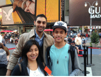 "Target, Twitter, and American: MAD  AMERICAN EAGLE  tkts- <div class=""copy""> <p>Congrats to our Trenchcoat Tickets winners Yvette and Anthony! </p> <p><strong>In case you don't know</strong>: every Wednesday at noon we send our intern to a random location in NYC and <a href=""https://twitter.com/latenightjimmy"" target=""_blank"">tweet</a> their whereabouts. The first person to find them <strong>wins two tickets to that night's show</strong>. See you guys next week!</p> </div>"