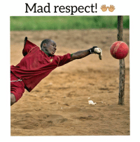 Respect, Soccer, and Sports: Mad respect! How amazing is this photo?!