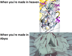 [Made in Abyss and Jojo's Bizzare Adventure part 6: Stone Ocean] Heaven and Hell in anime/manga: [Made in Abyss and Jojo's Bizzare Adventure part 6: Stone Ocean] Heaven and Hell in anime/manga