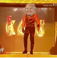 Trump in this bitch: Made with  NII Trump in this bitch