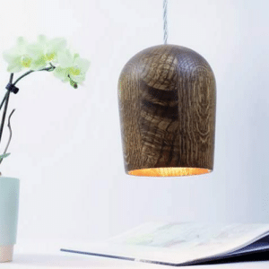 Made wooden pendant lamp: Made wooden pendant lamp