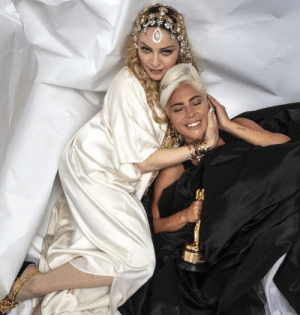 Madonna & Lady Gaga. Oscar night 2019: Madonna & Lady Gaga. Oscar night 2019