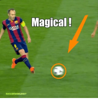 That assist by Iniesta could not be watched enough! 😍🎨 • Follow @Footballmemesinsta • No Copyright Intended @soccerworldhd7: Magical!  SOCCERWORLDHD7 That assist by Iniesta could not be watched enough! 😍🎨 • Follow @Footballmemesinsta • No Copyright Intended @soccerworldhd7