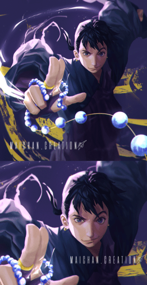 maichancreating:  「弥勒」I don't exactly know how I ended up here but I think I gave Miroku the wrong power, guys lmao.  Originally, I was gonna have the wind tunnel peep through Miroku's glove thing as the beads unravelled, but I thought it would darken the piece up too much since, you know, a black hole that consumes all things in its wake is not exactly the greatest light source for a dramatic piece like this.  So instead, I put a lightning stringy thing flying about because I liked the movement and Miroku's canon black hole did not help me in lighting composition  :''''''D Hope you guys still like it though  :'''''''''''''''''D : maichancreating:  「弥勒」I don't exactly know how I ended up here but I think I gave Miroku the wrong power, guys lmao.  Originally, I was gonna have the wind tunnel peep through Miroku's glove thing as the beads unravelled, but I thought it would darken the piece up too much since, you know, a black hole that consumes all things in its wake is not exactly the greatest light source for a dramatic piece like this.  So instead, I put a lightning stringy thing flying about because I liked the movement and Miroku's canon black hole did not help me in lighting composition  :''''''D Hope you guys still like it though  :'''''''''''''''''D