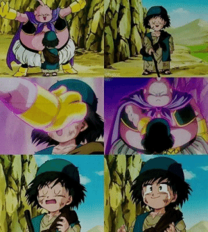 Majin Buu curing the poor blind kid's eyesight is probably the most wholesome scene in all of Dragon ball Z.: Majin Buu curing the poor blind kid's eyesight is probably the most wholesome scene in all of Dragon ball Z.