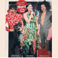 "TBT That time I wore a suit with no shirt + Stubbs and Wooten loafers to Kim Kardashian's birthday party and made Star magazine's ""Worst Dressed"" List (cc: @iambenlyons): Major Fashion  Violations  Ors  of the  Week!  Bobby Trendy  Olivia Munn.  ""Trendy is an oxymoron  ""The vegetarian version of  Fabrizio Goldstein  ""Weird Al Yankovic meets Jonah H TBT That time I wore a suit with no shirt + Stubbs and Wooten loafers to Kim Kardashian's birthday party and made Star magazine's ""Worst Dressed"" List (cc: @iambenlyons)"