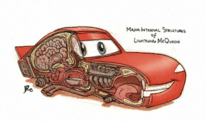 Bad, Bad Day, and Major: MAJOR INTERNAL STRUCTURES  of  LGHTAING McQUEEN If you're having a bad day take a look at this.