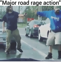 """He smashed his window, then proceeded to pepper spray his ass with utmost disrespect - in the middle of the traffic 😂 @pmwhiphop @pmwhiphop: """"Major road rage action"""" He smashed his window, then proceeded to pepper spray his ass with utmost disrespect - in the middle of the traffic 😂 @pmwhiphop @pmwhiphop"""