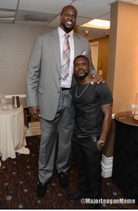 Shaquille O' Neal and Kevin Hart starring in: the BEST FACE SWAP OF ALL TIME.  (via @MajorLeagueMeme): @MajorleagueMeme Shaquille O' Neal and Kevin Hart starring in: the BEST FACE SWAP OF ALL TIME.  (via @MajorLeagueMeme)