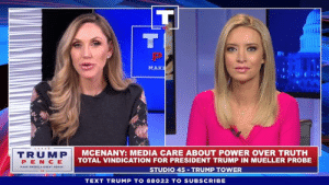 The Democrats and their beloved partner, the Fake News Media, do NOT care about the truth. They want to destroy our great movement - but we won't let that happen!: MAK  TRUMP  PEN CE  AMERICA GREAT  MCENANY: MEDIA CARE ABOUT POWER OVER TRUTH  TOTAL VINDICATION FOR PRESIDENT TRUMP IN MUELLER PROBE  STUDIO 45 TRUMP TOWER  TEXT TRUMP TO 88022 TO SUBSCRIBE The Democrats and their beloved partner, the Fake News Media, do NOT care about the truth. They want to destroy our great movement - but we won't let that happen!