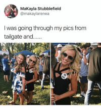 """He prolly thinking """"did that hoe really just throw her purse and drink on the ground for a mini photo shoot..."""" • Follow @savagememesss for more posts daily: MaKayla Stubblefield  @makaylarenea  I was going through my pics fronm  tailgate and. He prolly thinking """"did that hoe really just throw her purse and drink on the ground for a mini photo shoot..."""" • Follow @savagememesss for more posts daily"""