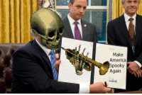 "America, Memes, and Cross: Make  America  Spooky  Again <p>Do cross-over memes have any value in the market right now??? via /r/MemeEconomy <a href=""http://ift.tt/2jD80bi"">http://ift.tt/2jD80bi</a></p>"