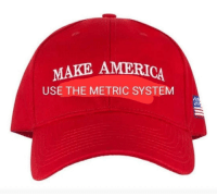 A Dream, America, and Metric: MAKE AMERICA  USE THE METRIC SYSTEM I have a dream