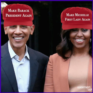 Are you with me!: MAKE BARACK  PRESIDENT AGAIN  MAKE MICHELLE  FIRST LADY AGAIN Are you with me!
