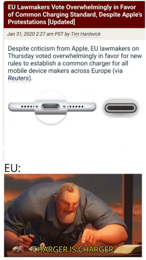 Make charger great again: Make charger great again