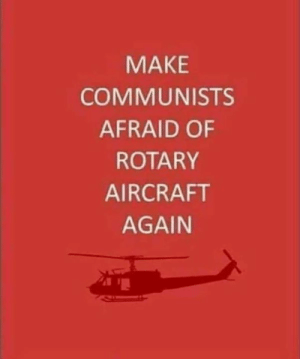 Memes, 🤖, and Make: MAKE  COMMUNISTS  AFRAID OF  ROTARY  AIRCRAFT  AGAIN DV6