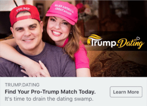 Dating, Tumblr, and Work: MAKE  GREAT AGAHA  atin  TRUMP.DATING  Find Your Pro-Trump Match Today.  It's time to drain the dating swamp.  Learn More oscarorozcoorejel:  oscarorozcoorejel:   mitsukimode:   oscarorozcoorejel:   unclefather:  You have no idea the absolute terror and fear this puts in my small body. I am trembling  The gays that hook up from this site comite hate crimes on each other to get off    White culture is going on a dating app and choosing happily/unhappily married    What kind of self drag is this????!!!!! Soosjosjrmemaormrlseiejmnasowpllwwl!!!   Oh gods there's two of them   Why would you go to this much work to go out with your cousin?