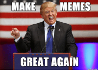 It's time we set a new precident!: MAKE  MEMES  GREAT AGAIN  made on imgur It's time we set a new precident!