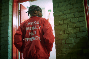 Friend, Make, and Mone: MAKE  MONE  NOT  FRIEND
