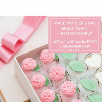 Make Mother's Day Great Again! - Treat her Sweetly! 15% off, code: Mom @ Junebsweet.com - LINK IN BIO !: MAKE MOTHER'S DAY  GREAT AGAIN!  Treat her sweetly!  15% off with code: MOM  juneBsweet.com Make Mother's Day Great Again! - Treat her Sweetly! 15% off, code: Mom @ Junebsweet.com - LINK IN BIO !