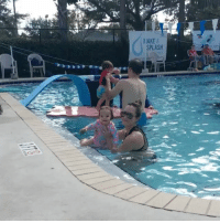 Saturday starts off with Swimming lessons... She's gained so much confidence since her first day it's unreal. Massive shout out to mama @alir87 for her extra practice. - In Florida most of everyone of my friends have a pool so starting them early to breath, find the side, a basic swimming is a life saver. AdienaPaigeLewis DaddysGirl IstayimgPoolSide: MAKE  SPLASH Saturday starts off with Swimming lessons... She's gained so much confidence since her first day it's unreal. Massive shout out to mama @alir87 for her extra practice. - In Florida most of everyone of my friends have a pool so starting them early to breath, find the side, a basic swimming is a life saver. AdienaPaigeLewis DaddysGirl IstayimgPoolSide