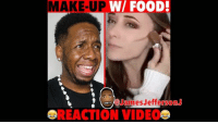 Beyonce, Drake, and Food: MAKE-UP W/ FOOD:  James JeffersonJ  REACTION VIDEO These make up tutorials are getting out of hand... 😂😂🤔 WitChoDumbAss ——————————————————————————— FOLLOW (@JamesJeffersonJ ) FOR MORE FUNNY VIDEOS! JamesAndreJeffersonJr ——————————————————————————————— MakeUp makeuptutorial makeupartist mua makeupjunkie freshface kimkardashian kyliejenner beyoncé drake hairstyles curlyhair nyx mac rihanna FENTYBeauty foundation reactionvideo reactions amberrose blacchyna