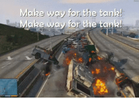 Memes, Brazil, and Running: Make way for the tank  Make way for the tonk Lukaku running through the Brazil defence like.. (Credits: @FootyHumour )  https://t.co/E39bJ7NpXl