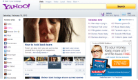 Really, Yahoo?  Don't you internet?: Make Y your homepage  Web  mages Video Local News More  YAHOO!  Saturday, February 16, 2013  YAHOO! SITES  Autos  Dating  Finance (Dow 1)  Flic  Games  Horoscopes  How to hold back tears  Jobs  There's an easy trick you can use to sto  Health rules to break  yourself fro  m crying at an inopportune  Secrets of thin people  moment. More body talents  Hidden causes of acne  essenge  ovies  How to hold back.  New look after  Popular time to  UUSIC  Alien creature  Supplemen  from N.J. causing deaths?  tears  weight loss  get divorced  My  My Yahoo!  News  0 of 60  0mg  NEWS  Meteor blast footage shows surreal scenes  Real Estate  Search  SIGN IN  MAIL  New here? Sign Up  Check emai  atch the show  TRENDING NOW  01. Man slaps crying b  06 Rihanna ignores Br  02  Harrison Ford rumor 07 Bryan Adams baby  03 Fifth-graders  murder... 08 Facebook  says it w  04 Doctors freeze baby  09 Gosselin  Wife Swap  05 Bunnies attacking c  10 3 killed in plane crash  AdChoices  Federal FREEEdition  It's your money  Keep more of it  and file taxes FREE.  .with expert live tax answers  TurboTax  Prepare, print  Federal refund:  & e-file FREE  TurboTaxV The power to keep what's yours  NTUIT  TurboTax com Ad Feedback Really, Yahoo?  Don't you internet?