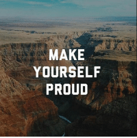 What are you waiting for?: MAKE  YOURSELF  PROUD What are you waiting for?