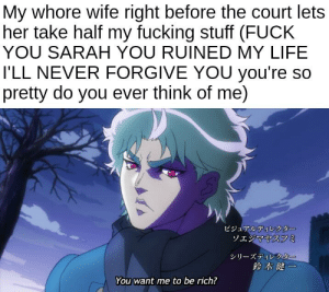 Making a meme out of every line in the JoJo's Bizarre Adventure anime until Stone Ocean is animated Day 75: Making a meme out of every line in the JoJo's Bizarre Adventure anime until Stone Ocean is animated Day 75