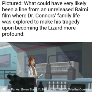 Making a meme out of every line in The Spectacular Spider-Man: Meme 203: Making a meme out of every line in The Spectacular Spider-Man: Meme 203