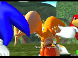 Making a meme out of one line from Sonic Heroes each day until I outlast both guys: Day Forty Eight: Making a meme out of one line from Sonic Heroes each day until I outlast both guys: Day Forty Eight