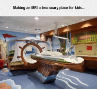 <p>Less Scary Place For Kids.</p>: Making an MRI a less scary place for kids... <p>Less Scary Place For Kids.</p>