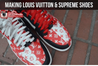 Flexing in the streets  Unofficial: Cory Bailey  https://www.youtube.com/sierato: MAKING LOUIS VUITTON & SUPREME SHOES  Serato  www.sierato.com Flexing in the streets  Unofficial: Cory Bailey  https://www.youtube.com/sierato