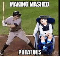 MAKING MASHED  POTATOES Fuck... Put some cheese on mine.