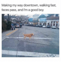 Doo doo doo doo doo doo doo Via @betasalmon: Making my way downtown, walking fast,  faces pass, and I'm a good boy Doo doo doo doo doo doo doo Via @betasalmon