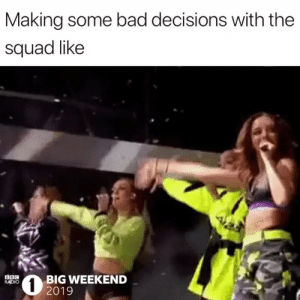 Bad, Radio, and Squad: Making some bad decisions with the  squad like  22020G WEEKEND  RADIO  2019 No ragrets 😆