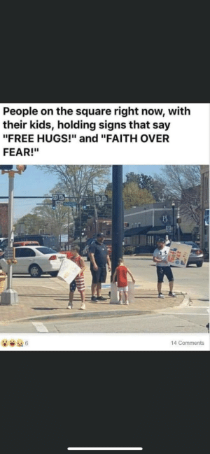 Making your kids give free hugs during a pandemic: Making your kids give free hugs during a pandemic