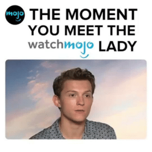 "fistopher:  modelo-citizen:  bellamyblakeweasley:  tomhollandnet: watchmojo: That moment when you meet the Watchmojo lady 😱 ""can you do the intro for us….?"" ""…please?""  imagine meeting celebrities and they geek out over you lol  it was so nice of the watchmojo lady to do an interview with her fans : mal THE MOMENT  YOU MEET THE  watchmojo LADY fistopher:  modelo-citizen:  bellamyblakeweasley:  tomhollandnet: watchmojo: That moment when you meet the Watchmojo lady 😱 ""can you do the intro for us….?"" ""…please?""  imagine meeting celebrities and they geek out over you lol  it was so nice of the watchmojo lady to do an interview with her fans"