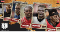 T-Minus 2 days until kickoff. #TWD and Topps Digital are here to prepare you for the Big Game with The Walking Dead: Card Trader. http://bit.ly/2jWb1B9: MALCOLM JENKINS  WALKING  I  aMC  CARD TRADER  COLE BEASLEY  WA  CARDALE JONES  QB BUFFALO  2017  SHEA LB l NEW ENGLAND  WALKINI  SUNDAYS  NFLPA  WALNI  ROBERT ALFORD  SUNDAY T-Minus 2 days until kickoff. #TWD and Topps Digital are here to prepare you for the Big Game with The Walking Dead: Card Trader. http://bit.ly/2jWb1B9