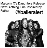 "Alive, Community, and Fashion: Malcolm X's Daughters Release  New Clothing Line Inspired by  Father  @balleralert Malcolm X's Daughters Release New Clothing Line Inspired by Father - blogged by: @ashleytearra ⠀⠀⠀⠀⠀⠀⠀ ⠀⠀⠀⠀⠀⠀⠀ Even decades later, Malcolm X's daughters are still continuing to keep their father's legacy alive. ⠀⠀⠀⠀⠀⠀⠀ ⠀⠀⠀⠀⠀⠀⠀ According to @bossipofficial, the six sisters-Attallah, Qubilah, Ilyasah, Gamilah, Malikah, and Malaak, have all teamed up with designer Yvonne Jewnell to unveil a clothing line in remembrance of their late father. ⠀⠀⠀⠀⠀⠀⠀ ⠀⠀⠀⠀⠀⠀⠀ The newly-released collection-simply coined under the name, 'Malcolm X: Legacy', features a plethora of 1960s-themed designs, Malcolm X imagery, and infamous quotes that are inspired by the iconic human rights activist and his movement. ⠀⠀⠀⠀⠀⠀⠀ ⠀⠀⠀⠀⠀⠀⠀ With the apparel brand, the ladies are hoping to enlighten people of all age groups about their father's notable contribution to the civil rights community. ⠀⠀⠀⠀⠀⠀⠀ ⠀⠀⠀⠀⠀⠀⠀ ""It's fashion, but we're incorporating knowledge with it,"" Gamilah Shabazz told Bossip. 'Malcolm X: Legacy' will make its official public debut during Harlem Fashion Week, which will kick off next month."
