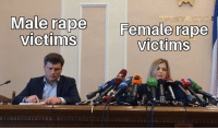 Rape, Hate, and Female: Male rape F  Female  rape  victims  victims Here comes the hate