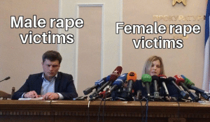 Dank, Memes, and Target: Male rape  victims  Female rape  victims  MS Here comes the hate by interestinguser248 MORE MEMES