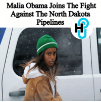 HU Staff: Deja Monet @dejvmonet Former First Daughter Malia Obama was at the Sundance Film Festival to participate in a protest against the North Dakota pipeline. ________________________________________ The fight to prevent the pipeline continues after President Donald Trump signed an executive order to continue construction of the pipeline. ________________________________________ More at thehollywoodunlocked.com: Malia Obama Joins The Fight  Against The North Dakota  Pipelines HU Staff: Deja Monet @dejvmonet Former First Daughter Malia Obama was at the Sundance Film Festival to participate in a protest against the North Dakota pipeline. ________________________________________ The fight to prevent the pipeline continues after President Donald Trump signed an executive order to continue construction of the pipeline. ________________________________________ More at thehollywoodunlocked.com